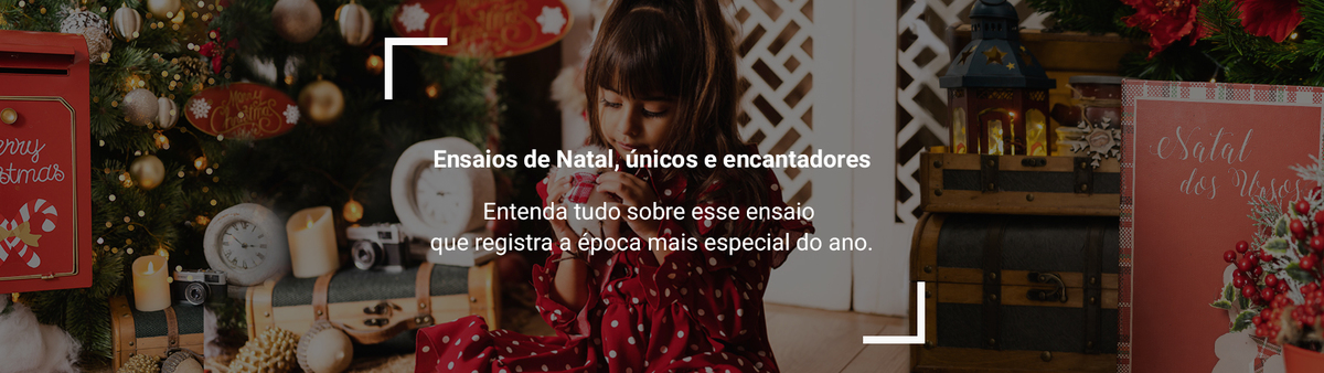 Imagem capa - Ensaios de Natal, únicos e encantadores por Vanessa Durazzo