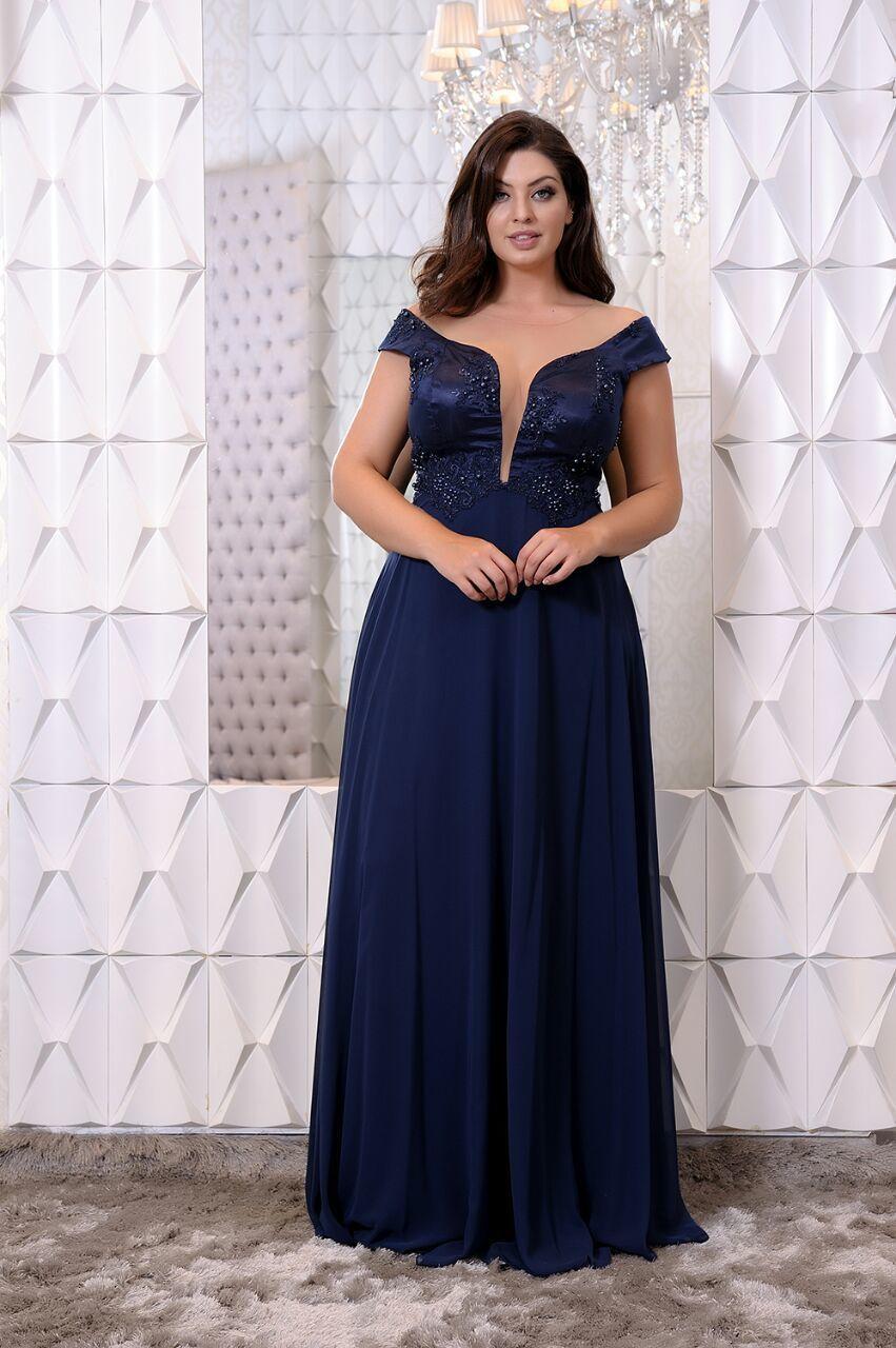 ba5b23bfd E atendendo pedidos de nossas clientes lançamos uma coleção exclusiva de  Vestidos Plus Size para Festas. São modelos super elegantes