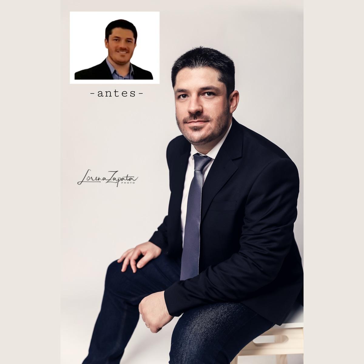 Imagem capa - Retrato Corporativo do Rodrigo! por Lorena Zapata