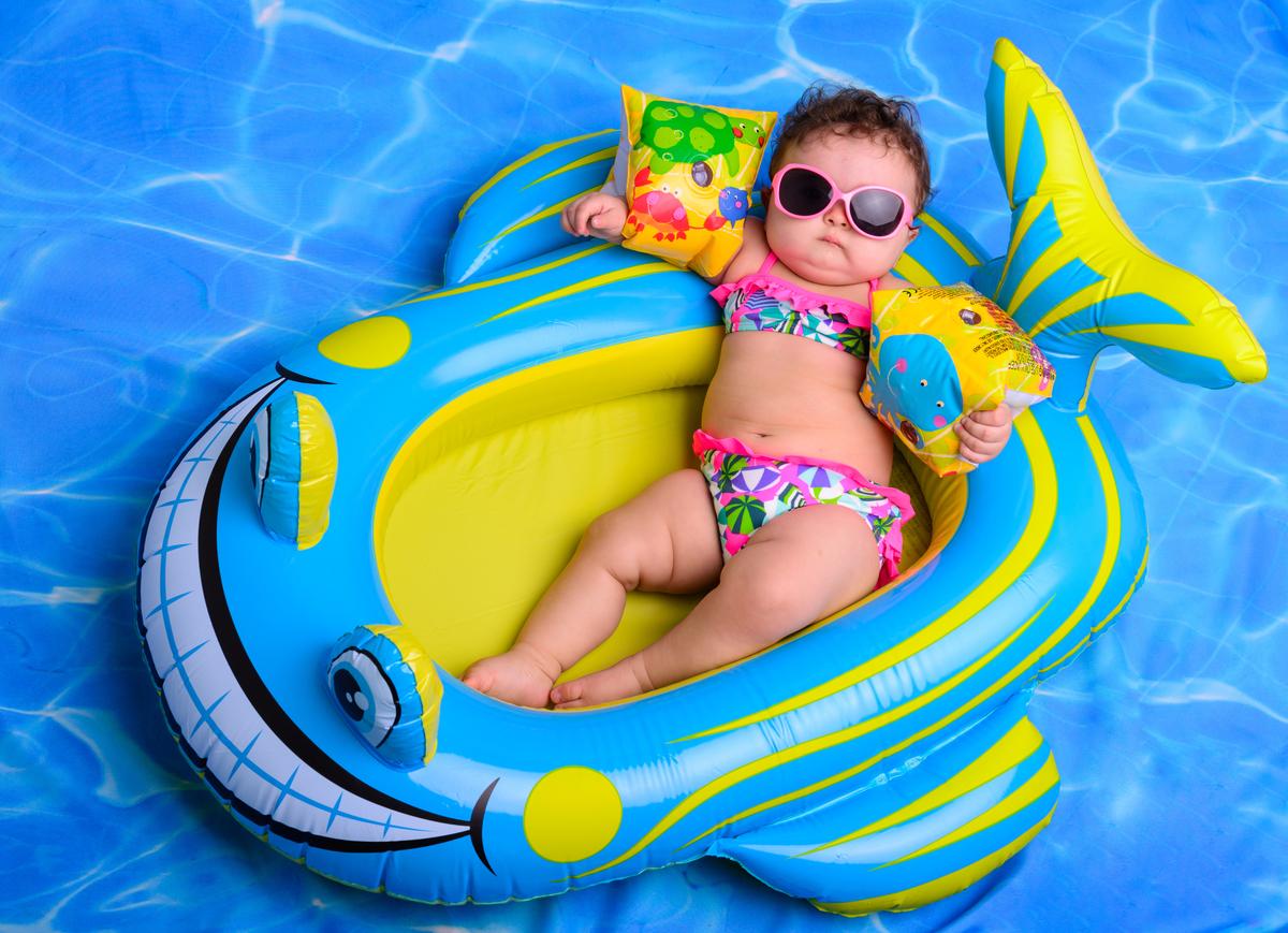 Imagem capa - 9 dicas imperdíveis para cuidar do seu bebê nesse verão por Foto Sete Fotografia de Família