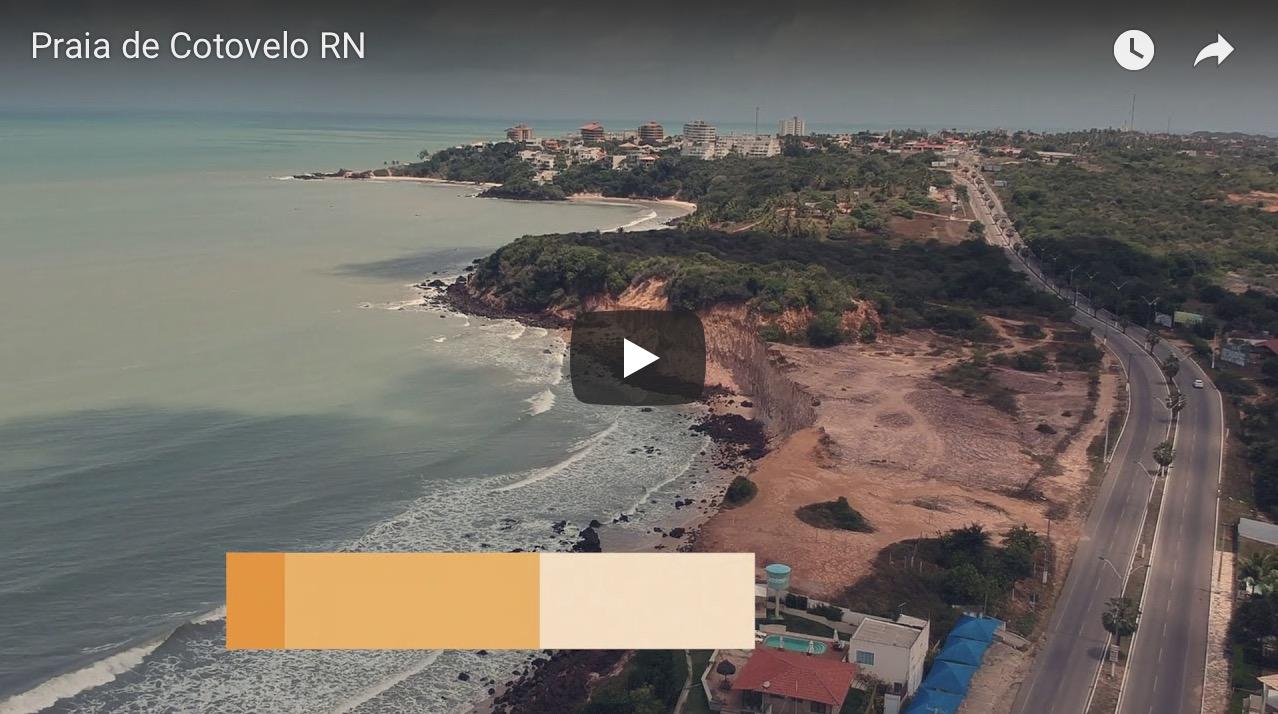 Imagem capa - Fui de Drone, e você precisa conhecer: Praia de Cotovelo RN por Junior Barreto