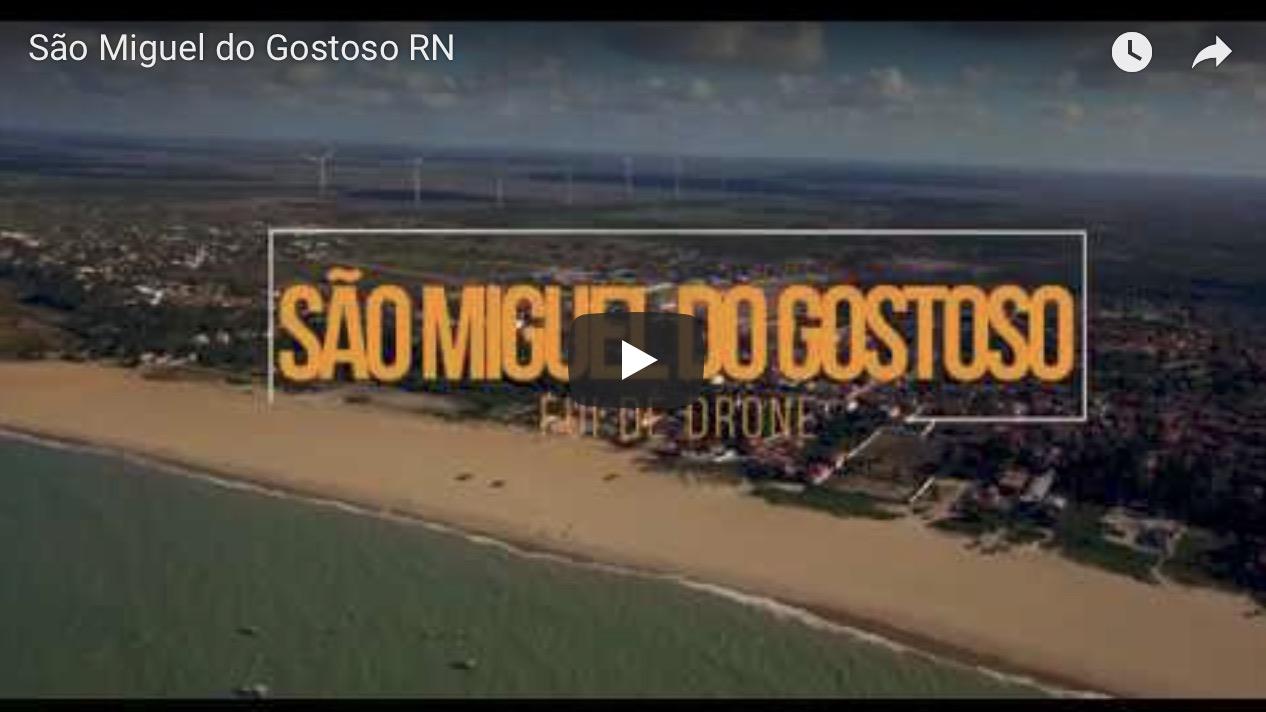 Imagem capa - Fui de Drone, e você precisa conhecer: São Miguel do Gostoso RN por Junior Barreto