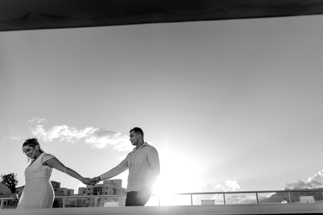 Fotografia do ensaio pós casamento realizado em Laranjeiras - Serra - ES.