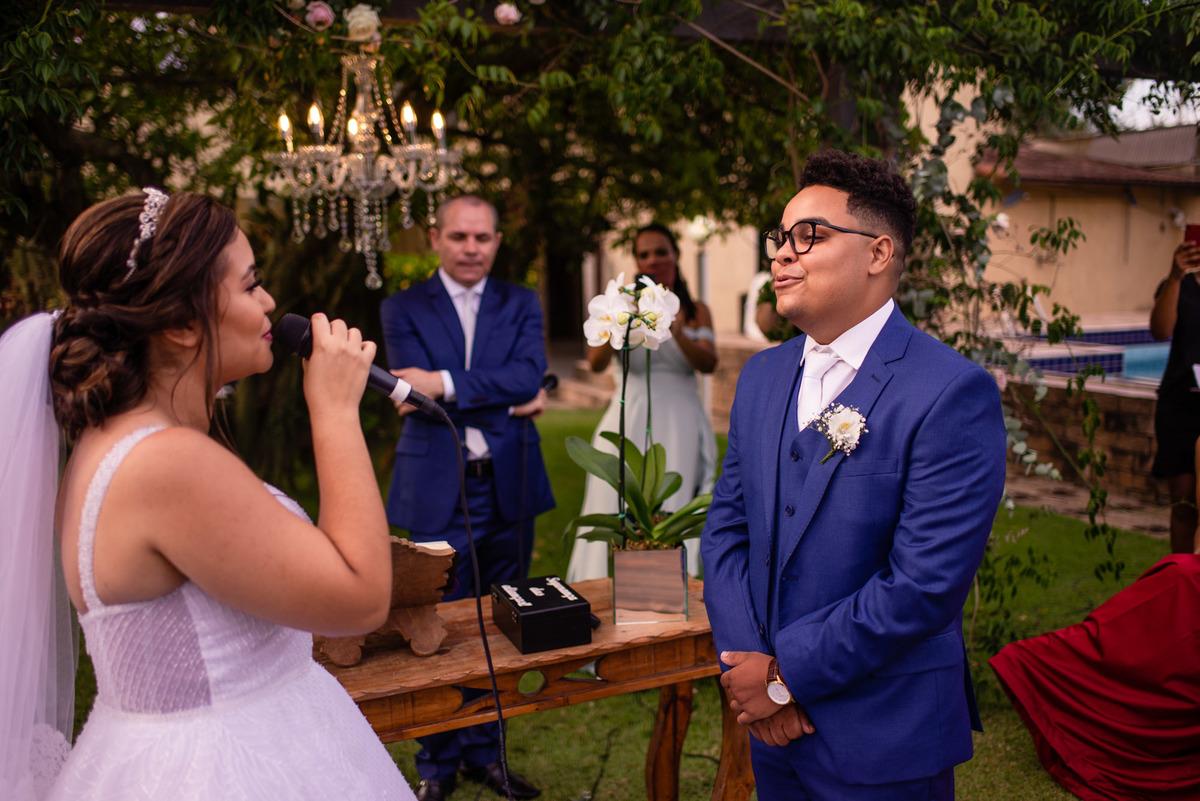 Fotografia Casamento - Votos Noiva - Balneario Carapebus - Serra ES - Paulo Mota Fotografia