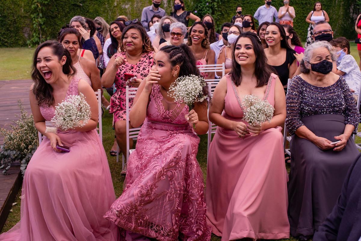 Fotografia Convidados Casamento - Cerimonial dos Sonhos - Balneario Carapebus - Serra ES