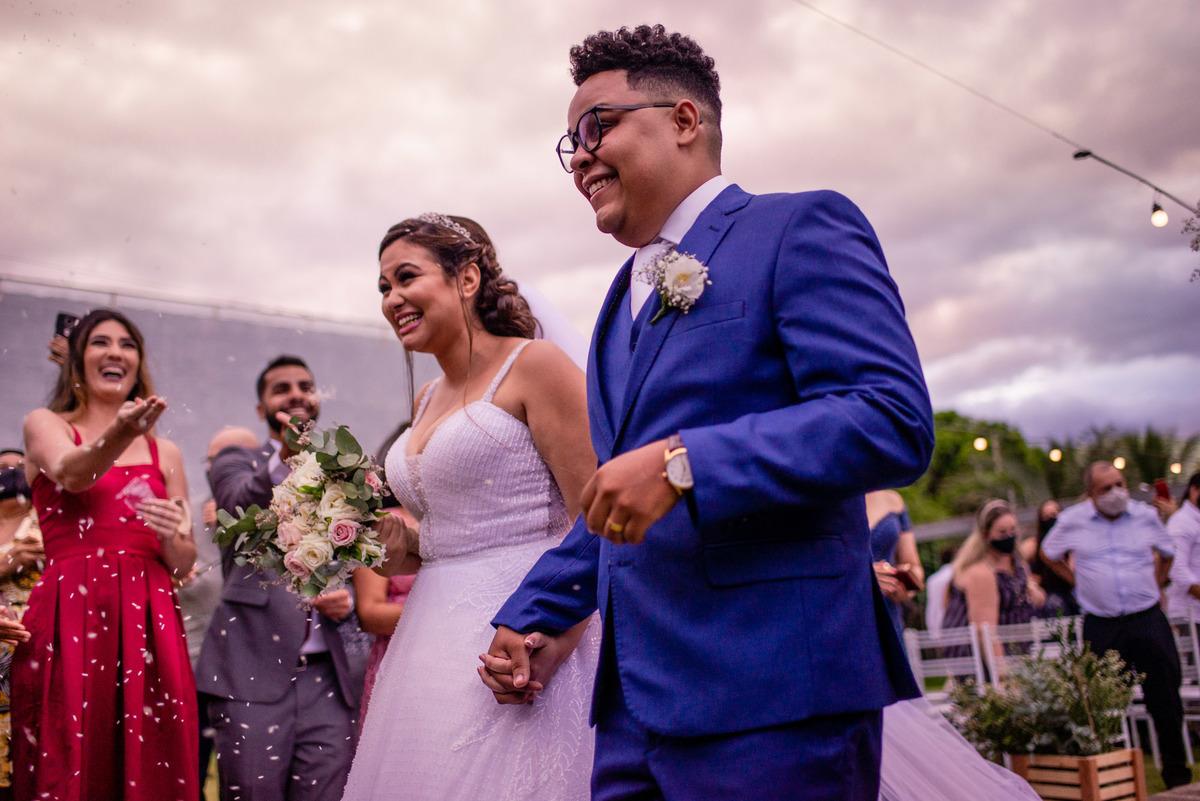 Fotografia saída noivos - Cerimonia Casamento - Serra ES - Balneario Carapebus - Cerimonial dos Sonhos