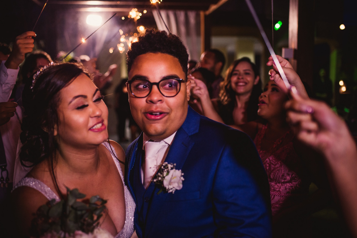 Fotografia entrada da festa de casamento - Balneario Carapebus - Serra ES