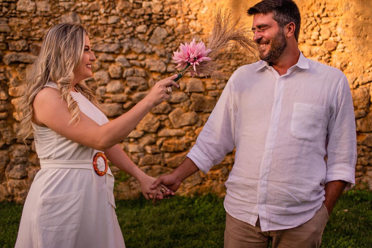 ensaio fotografico serra es - pre casamento - ruina queimados