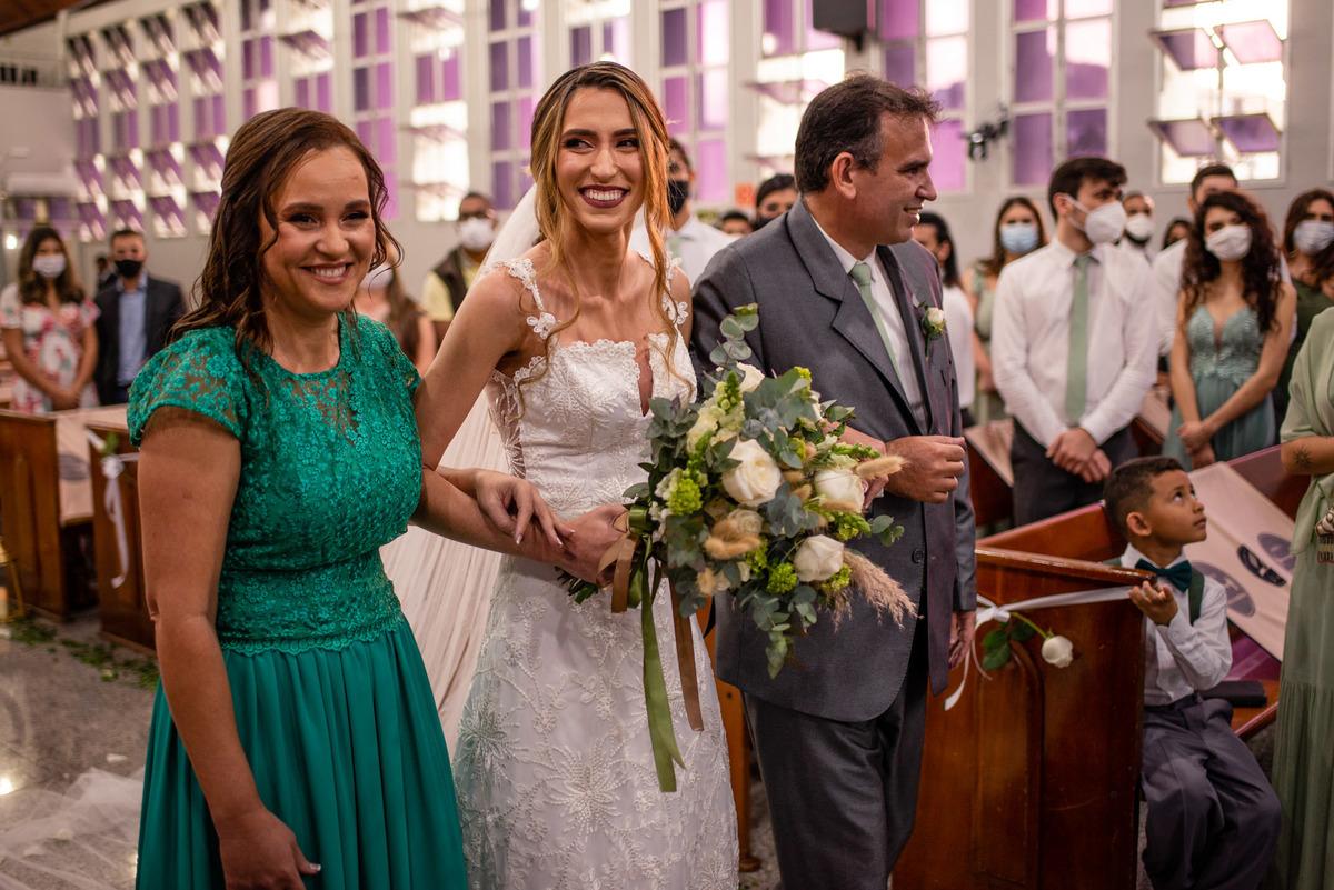 fotografia de casamento vitoria es - entrada da noiva - casamento igreja central de vitoria