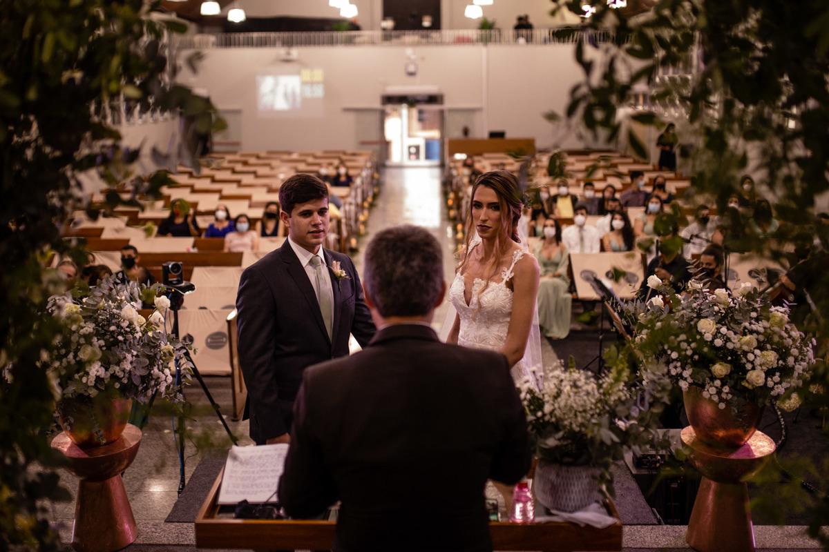 fotografia cerimonia de casamento - casamento igreja adventista central de vitoria