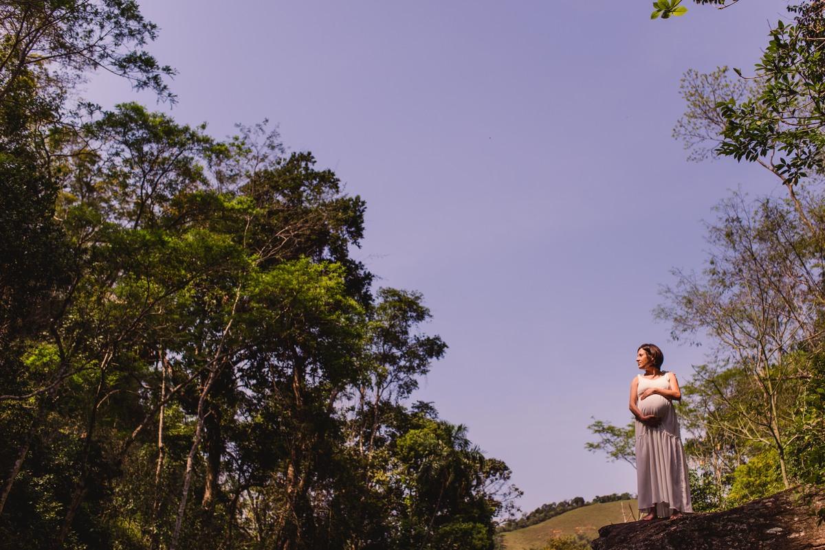 Ensaio fotografico em viana espirito santo - Cachoeira do Aloisio - Gestante