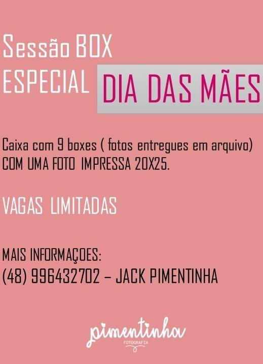 Imagem capa - Sessão box especial - DIA DAS MÃES! por Jaquelini da Rosa dos Anjos dos Santos