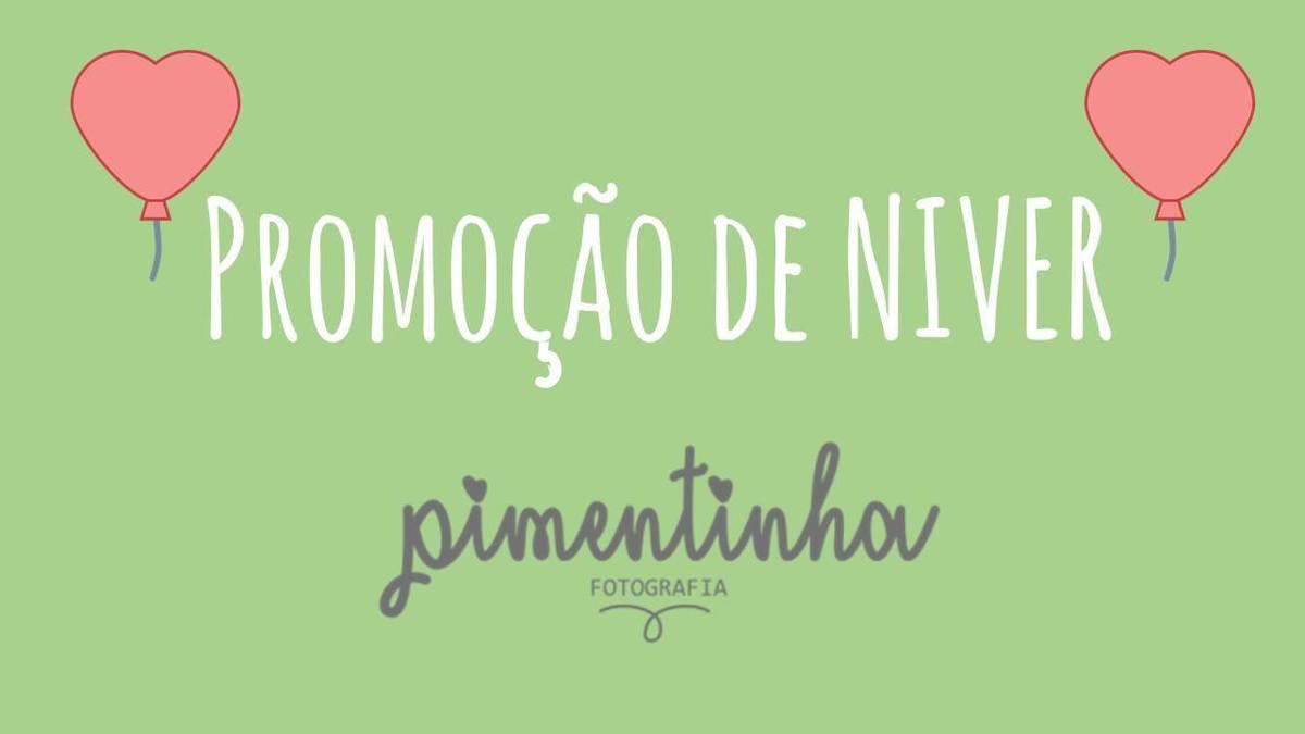 Imagem capa - NIVER  DE 4 ANOS DA PIMENTINHA FOTOGRAFIA COM PRESENTÃO... por Jaquelini da Rosa dos Anjos dos Santos