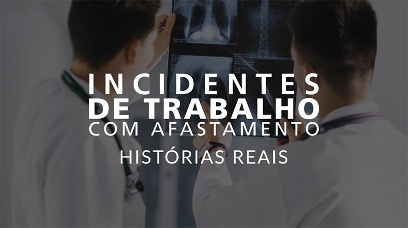 Imagem capa - Vídeos para Treinamento - Incidentes de Trabalho por Luis Gustavo