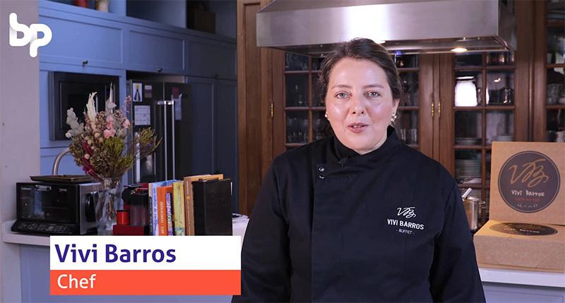 Imagem capa - Produtora de vídeo - Chef Vivi Barros por Luis Gustavo