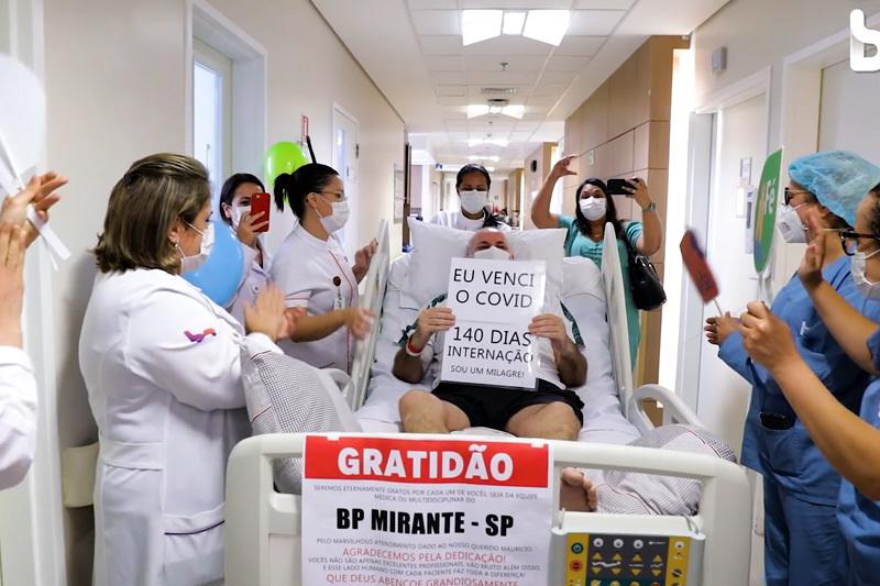 Imagem capa - Produtora de Vídeo SP - Alta de Paciente COVID por Luis Gustavo