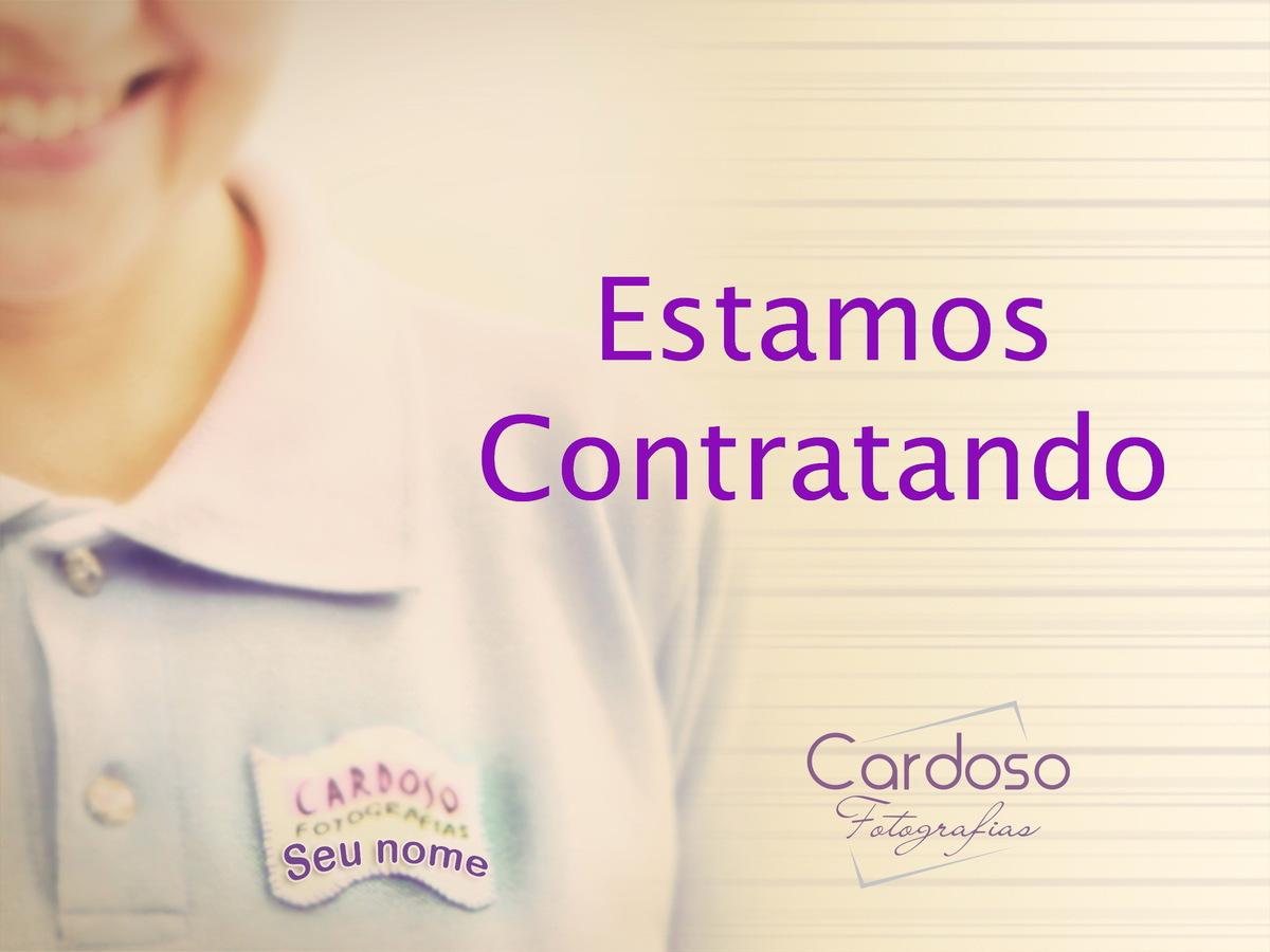Imagem capa - Estamos contratando!!! por Cardoso Fotografias