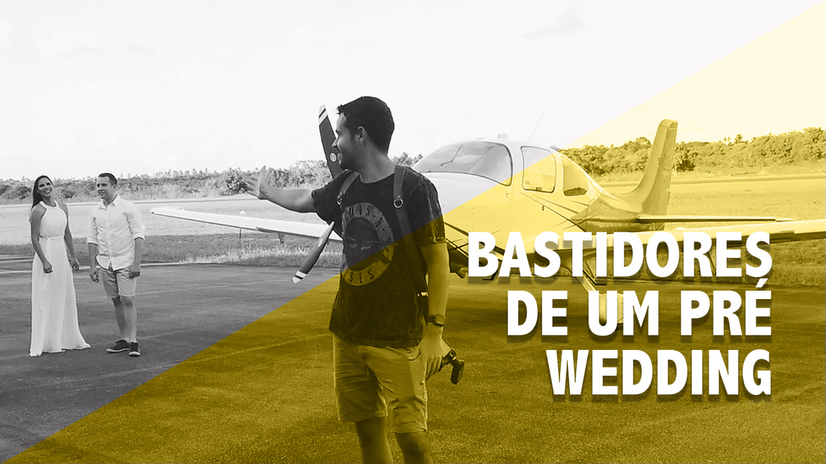 Imagem capa -  Bastidores - Pré-Wedding - Gy e Marcelo por Rafael Acioli