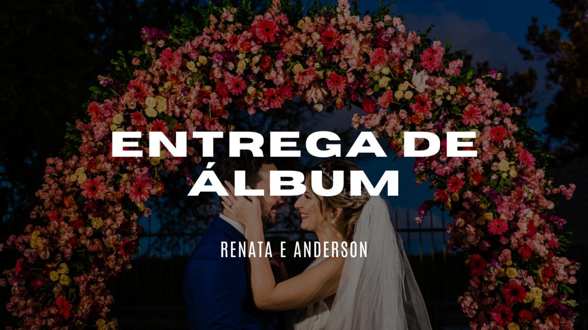 Imagem capa - Entrega de Álbum - Renata e Anderson por Rafael Acioli