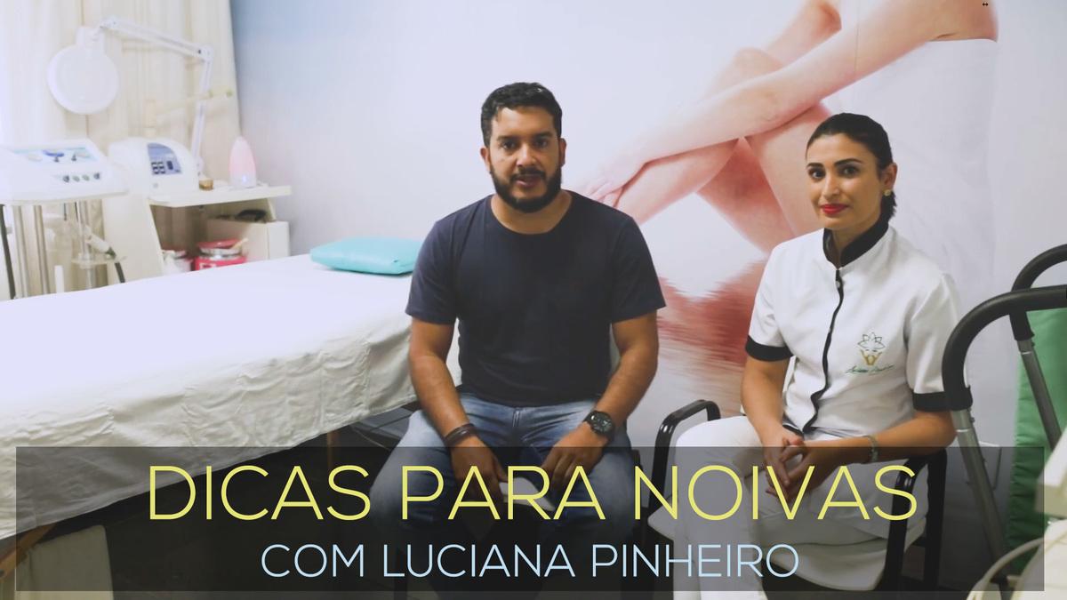 Imagem capa - DICAS PARA NOIVAS - LUCIANA PINHEIRO - ESTETICISTA E TERAPEUTA por Juliano Tavares - Fotografia