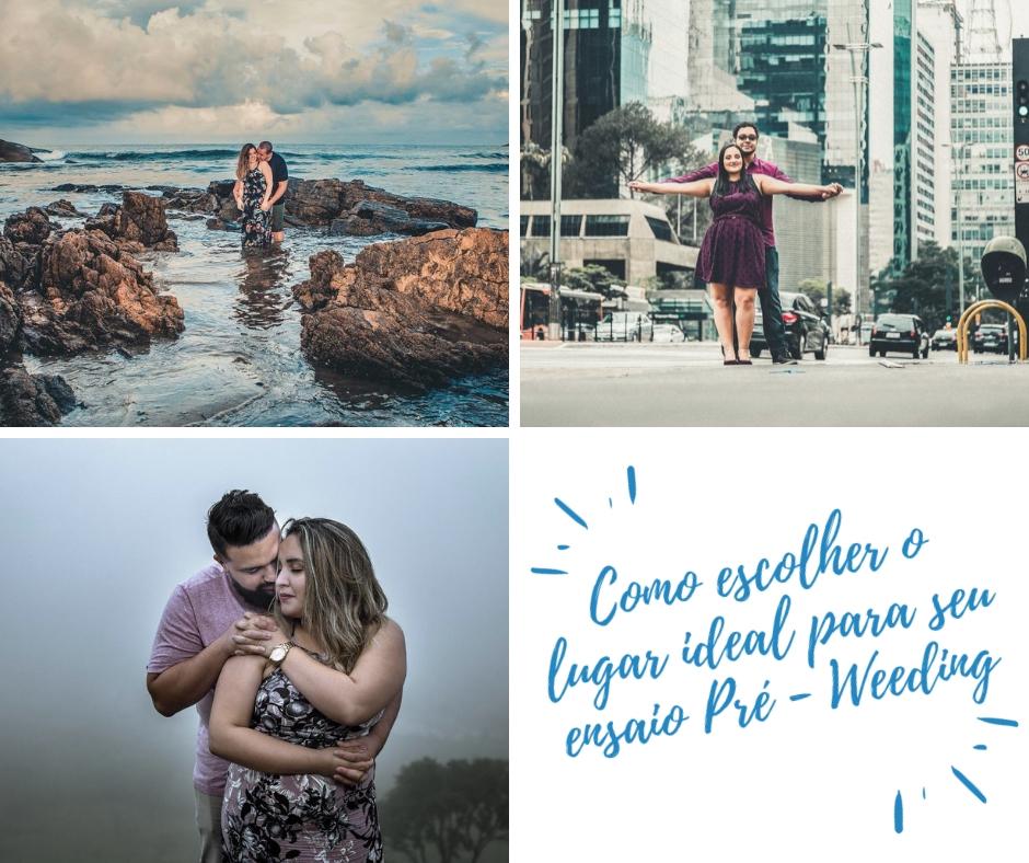 Imagem capa - COMO ESCOLHER O LOCAL DO SEU PRÉ WEDDING?  por Thais Araujo Rosa Alcantara