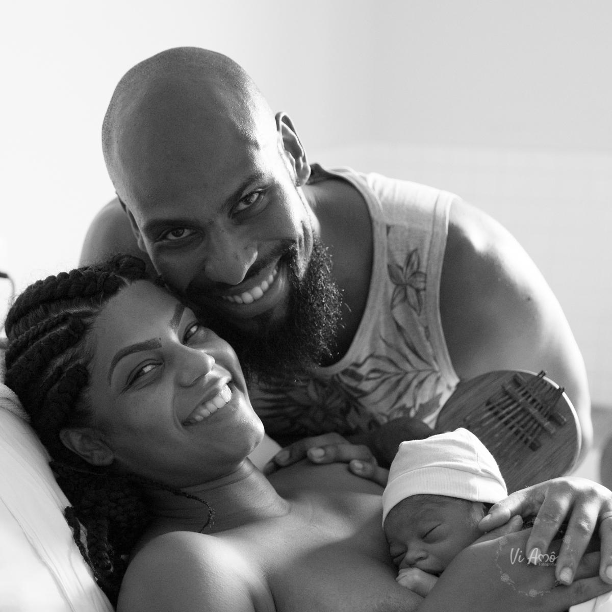 Imagem capa - O encontro com a Felicidade - O nascimento do Ayo por Vi Amô Fotografia