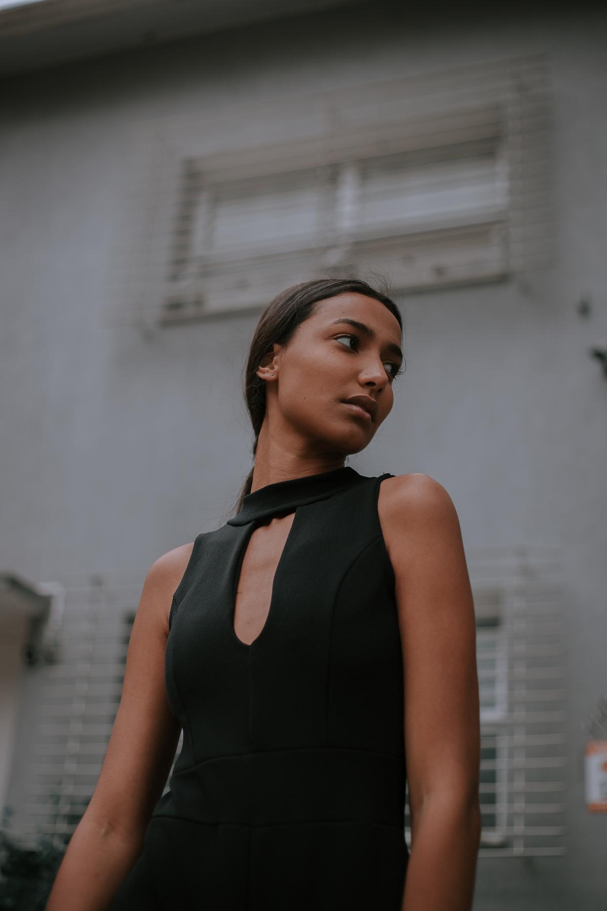 modelo negra fotografia de beauty em estudio