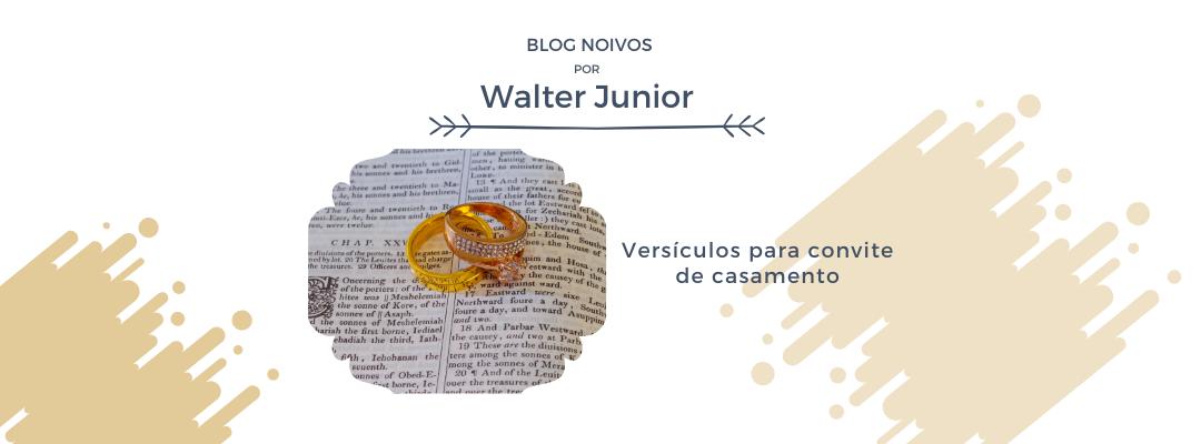 Imagem capa - Versículos para convite de casamento por Walter Junior