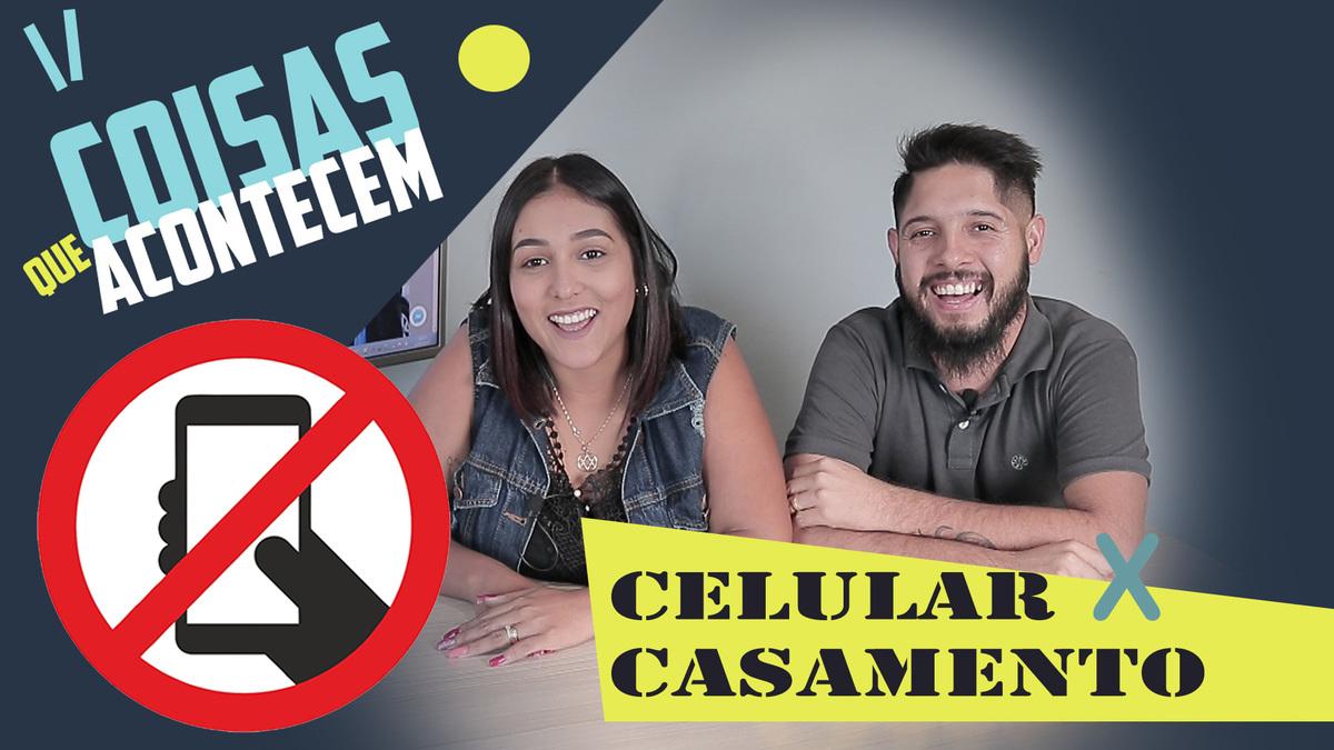 Imagem capa - COISAS QUE ACONTECEM - #01 (CELULAR X CASAMENTO) por Sidney e Jéssica Fotografia e Filme - São Paulo e Litoral