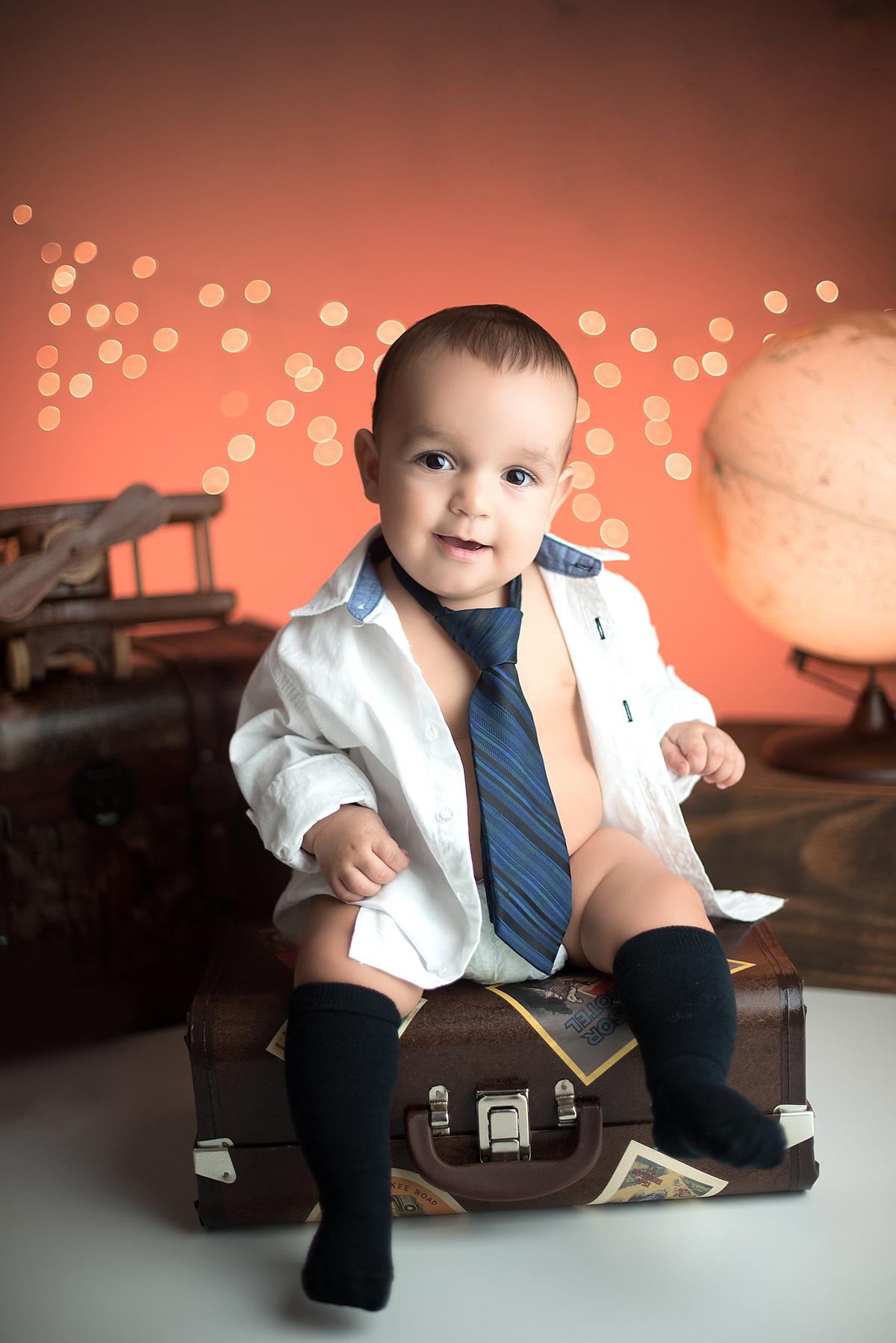 Imagem capa - Miguel - 8 meses por Luiziane Segala