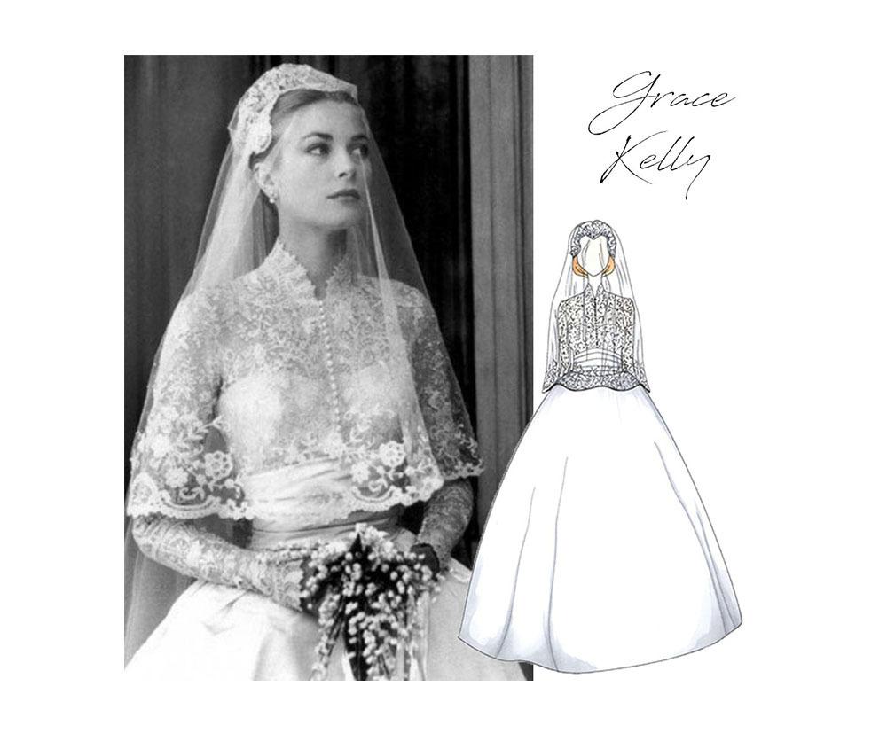 Imagem capa - 11 Vestidos de Noiva Mais Icônicos de Todos os Tempos por Atelier Oui