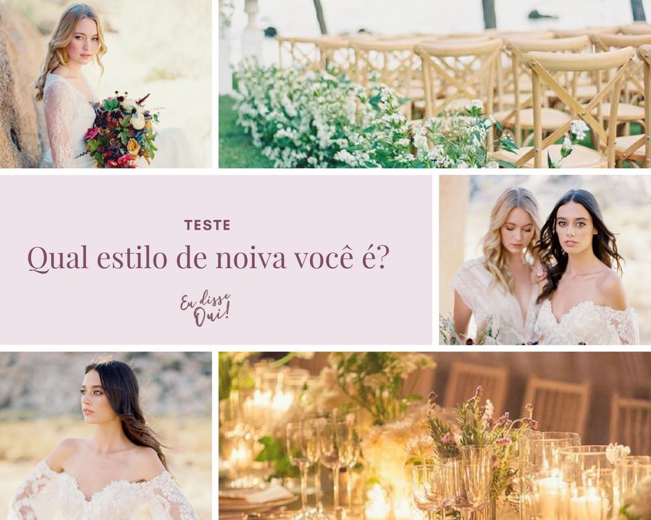 Imagem capa - Teste - Qual Estilo De Noiva Você É? por Atelier Oui