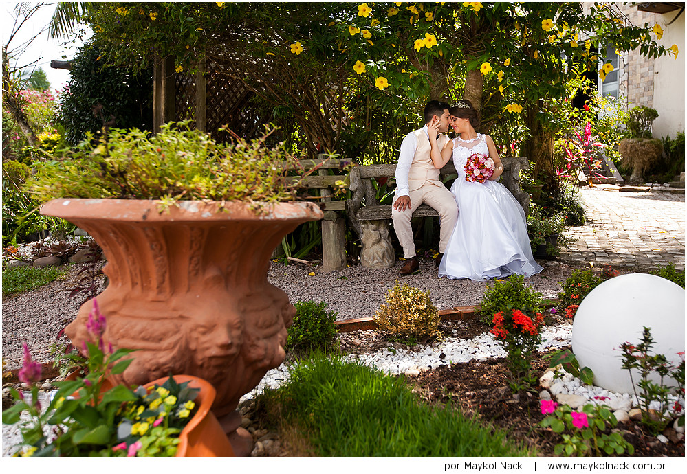 Casamentos Dani E Felipe Recanto Das Flores Jaguaruna Sc