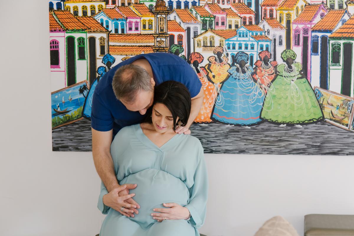 Gestação em Brasilia, ensaio lifestyle, ensaio em casa