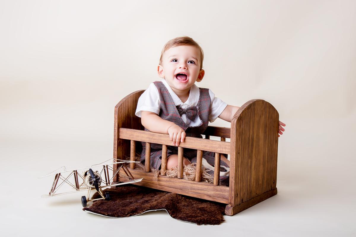 Ensaio vintage, bebe de acompanhamento 9 meses
