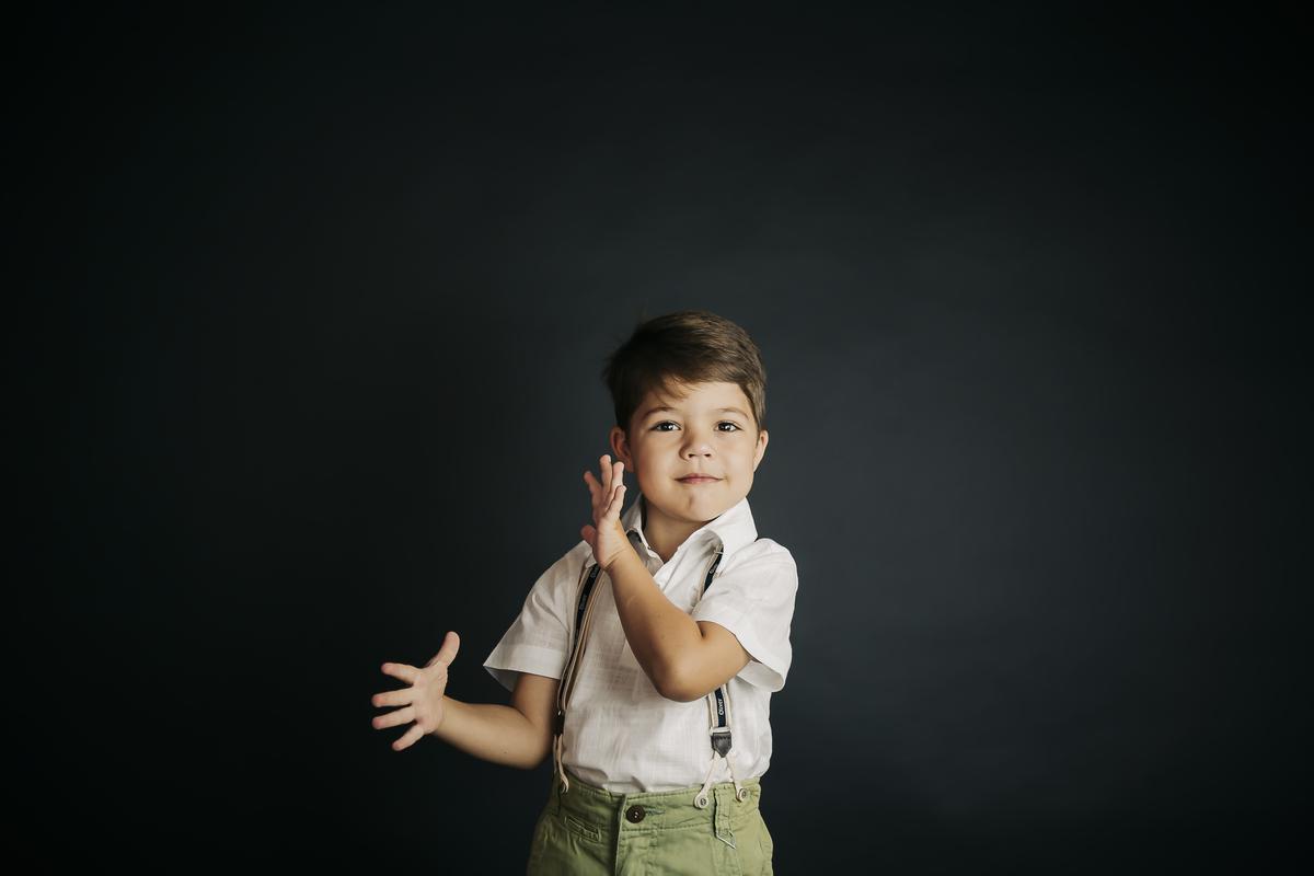 Fotografia editorial de criança