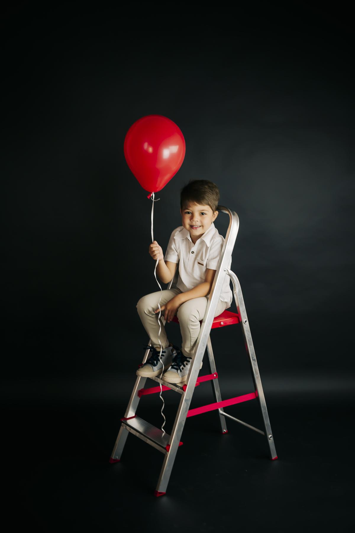 Fotografia infantil estúdio Gabi Aine, Brasilia