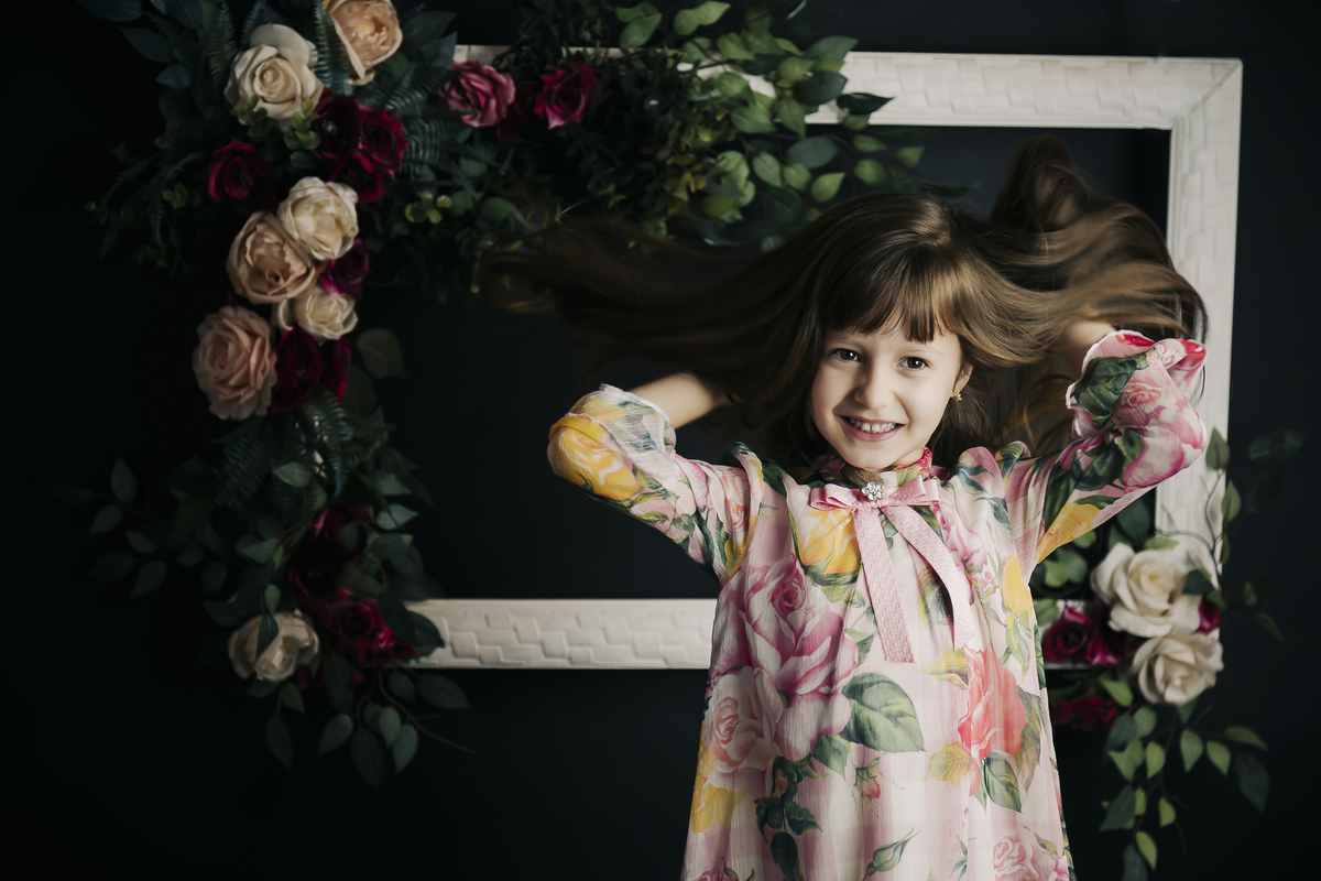 Ensaio menina, editorial, ensaio em estúdio fotográfico