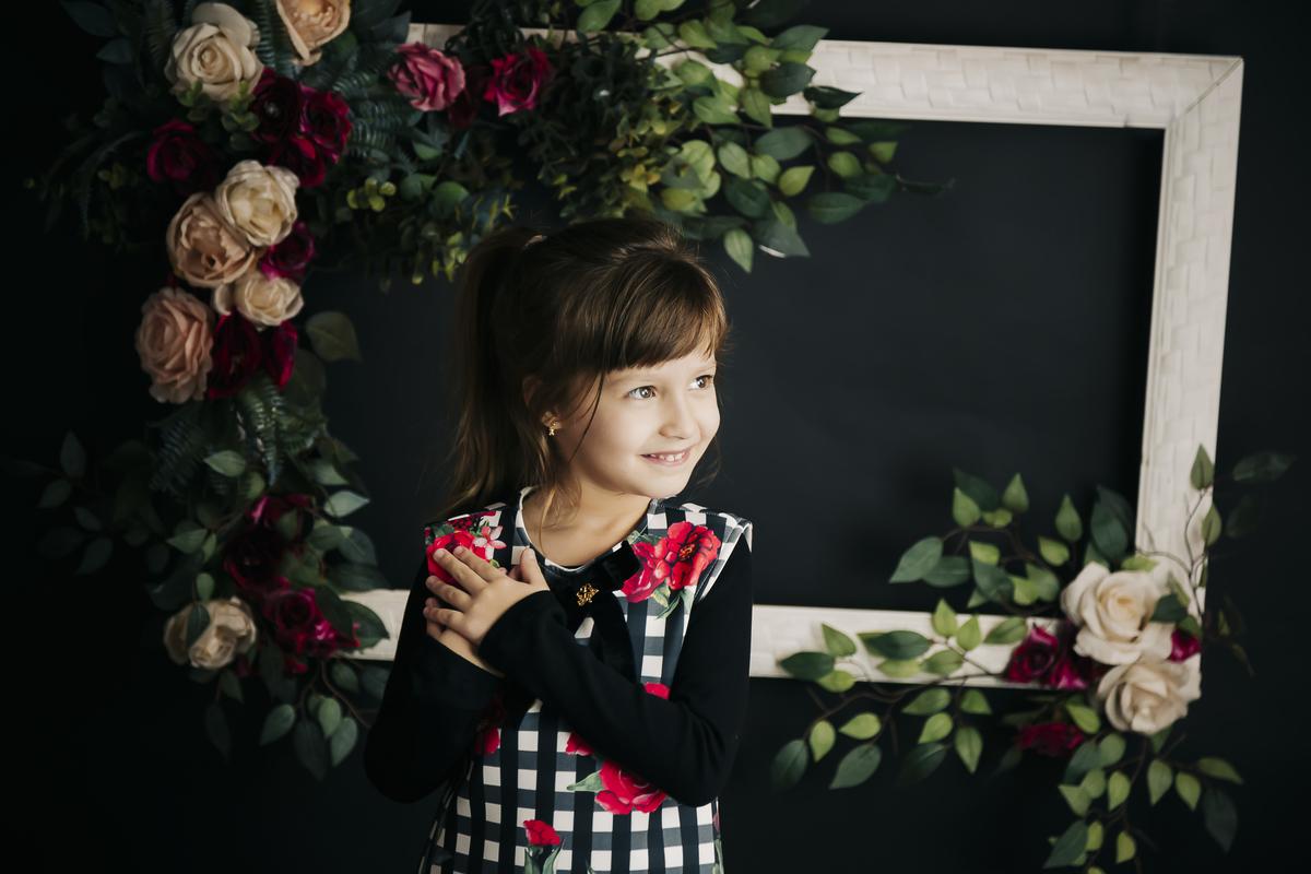 Gabi Aine Fotografia, book infantil Brasilia em estúdio
