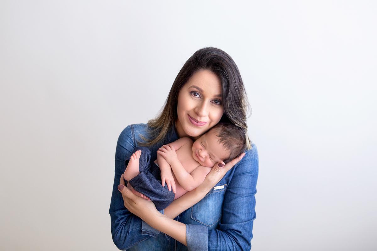 Amor de mãe, Ensaio Newborn Brasilia