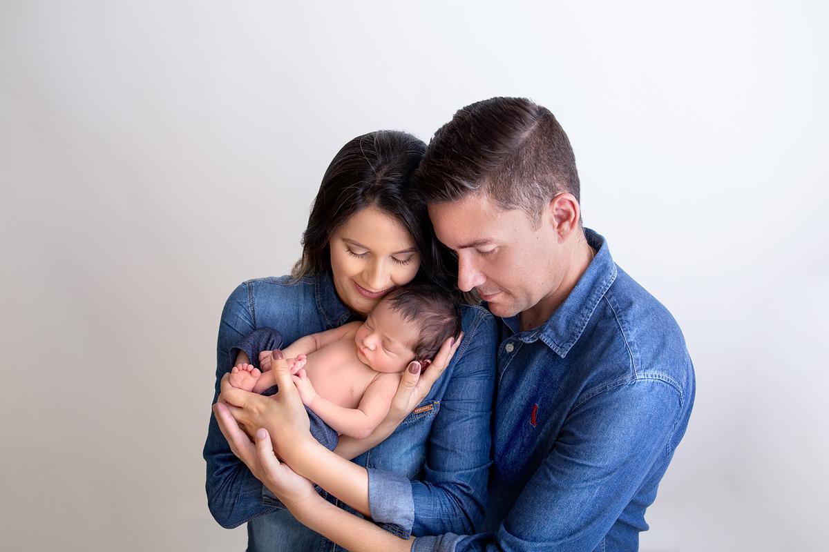 Papai e mamãe, segurança do newborn Brasilia, Gabi Aine