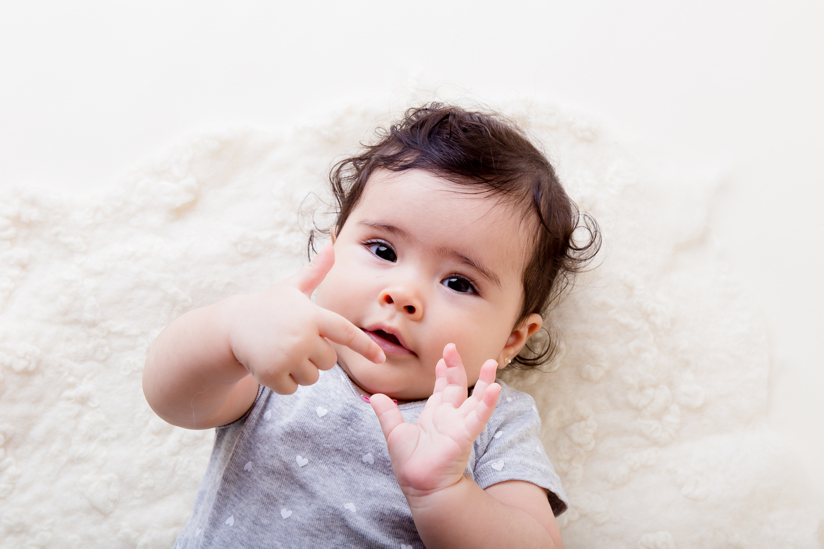 Estudio Gabi Aine, acompanhamento primeiro ano, beeb de seis meses em Brasília