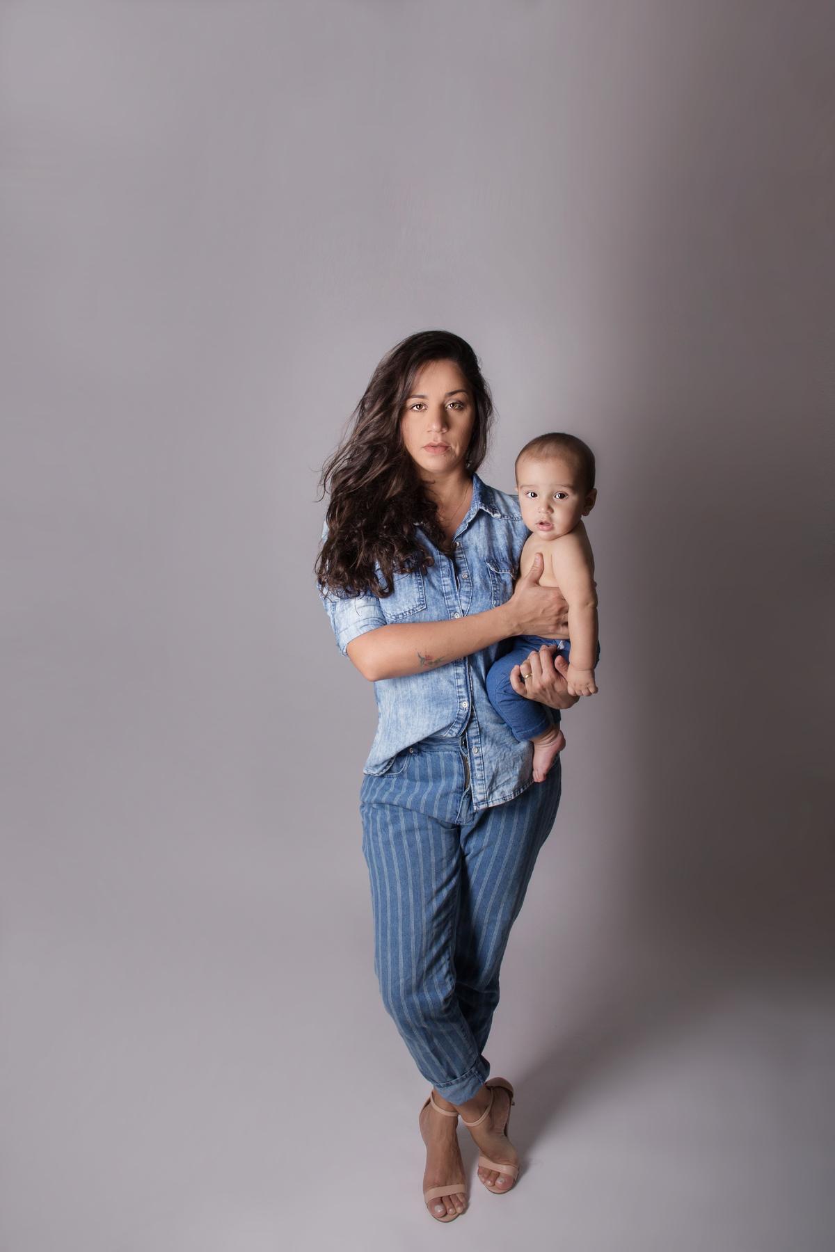 Ediorial mamãe e bebê
