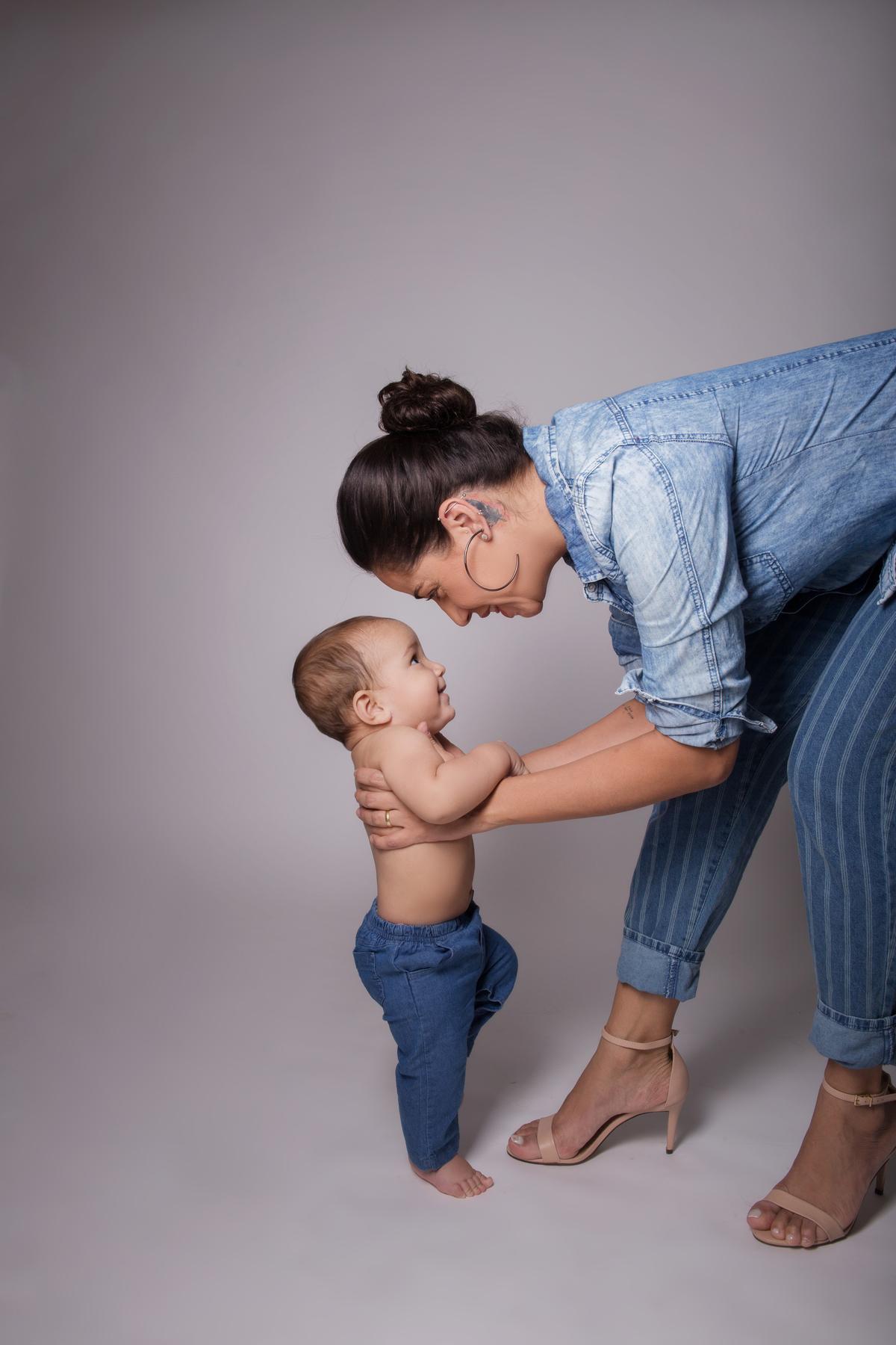 Amor de mãe em ensaio Brasilia, Gabi Aine