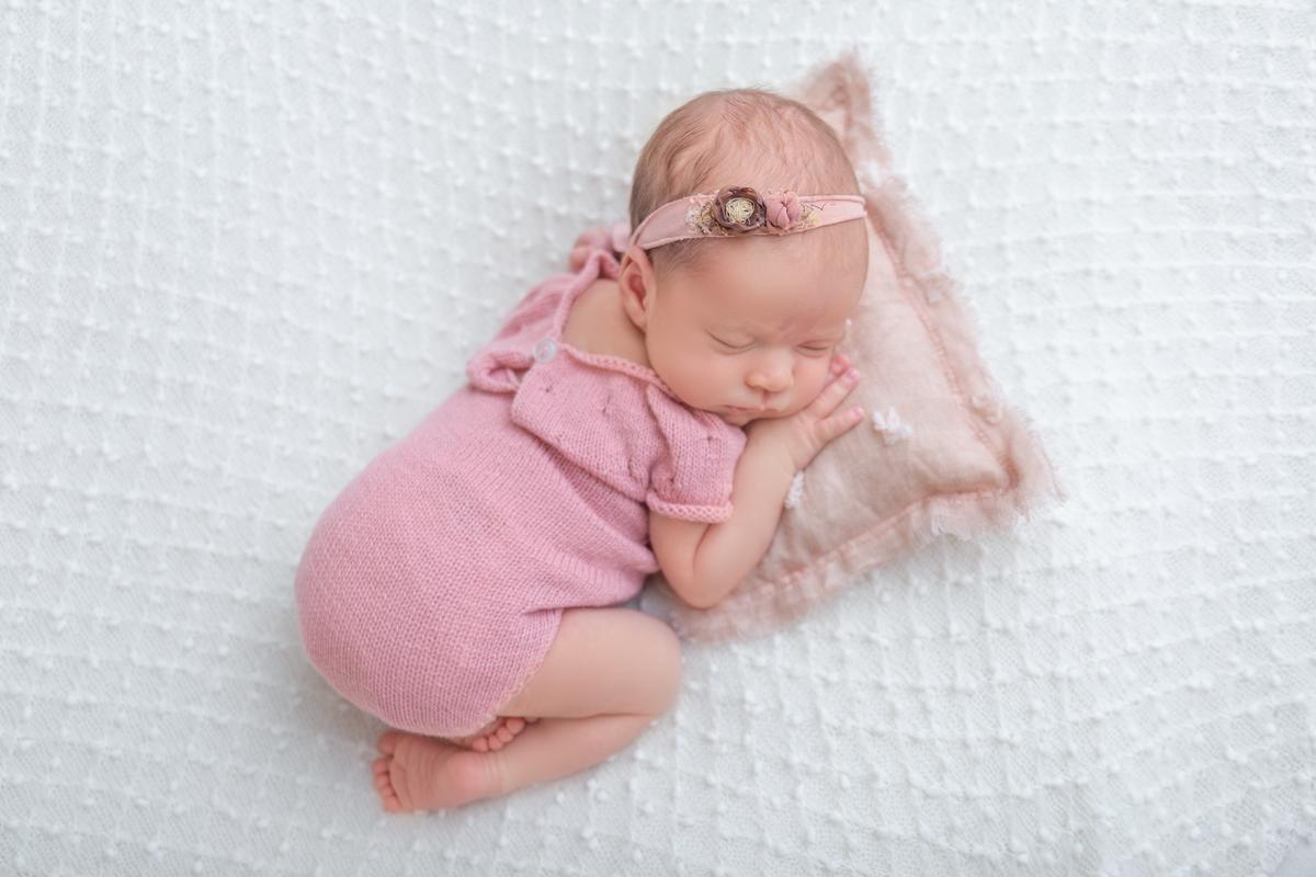 Manta pipoca newborn menina Newborn Brasilia, Gabi Aine