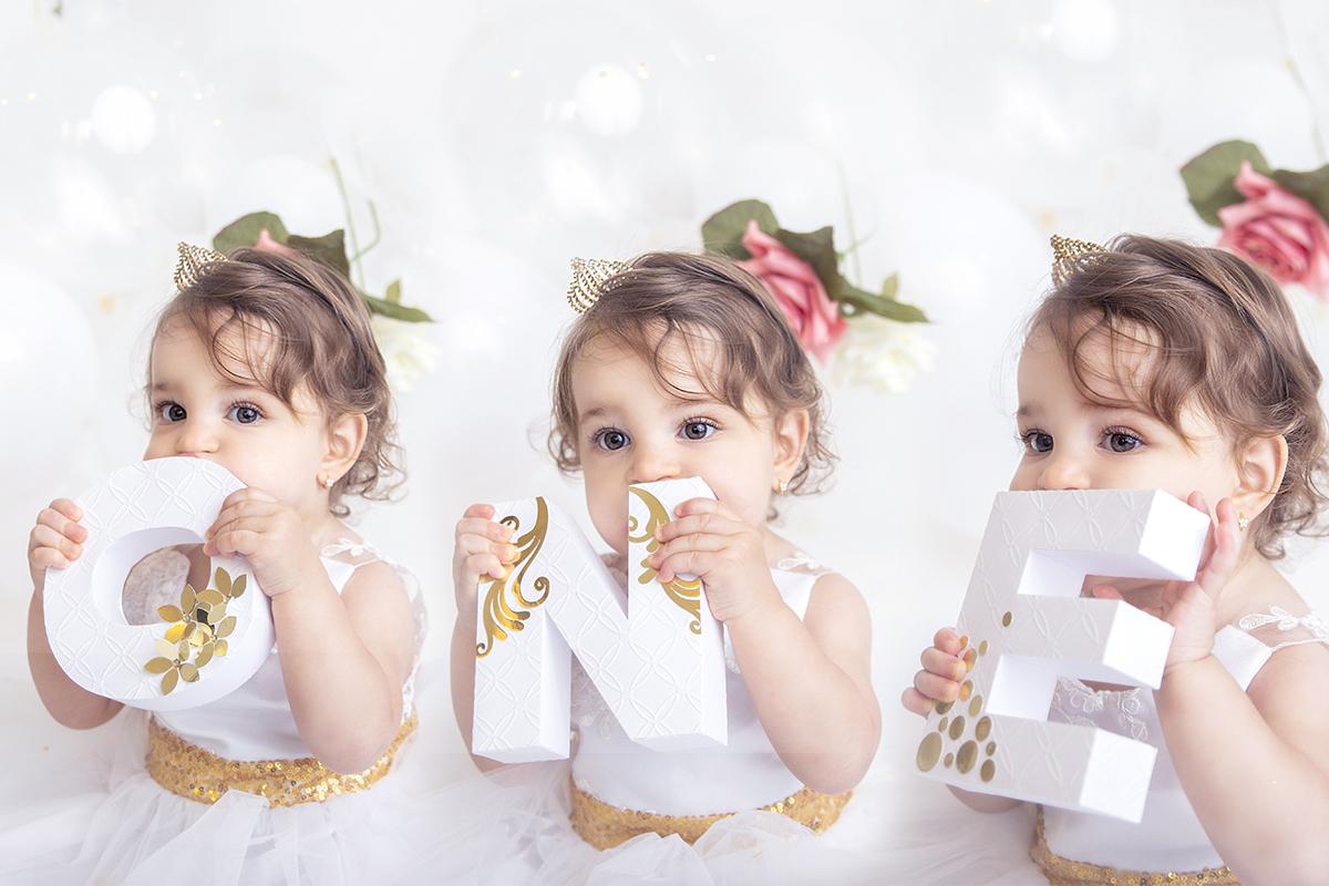 Primeiro ano do bebê, smash the cake