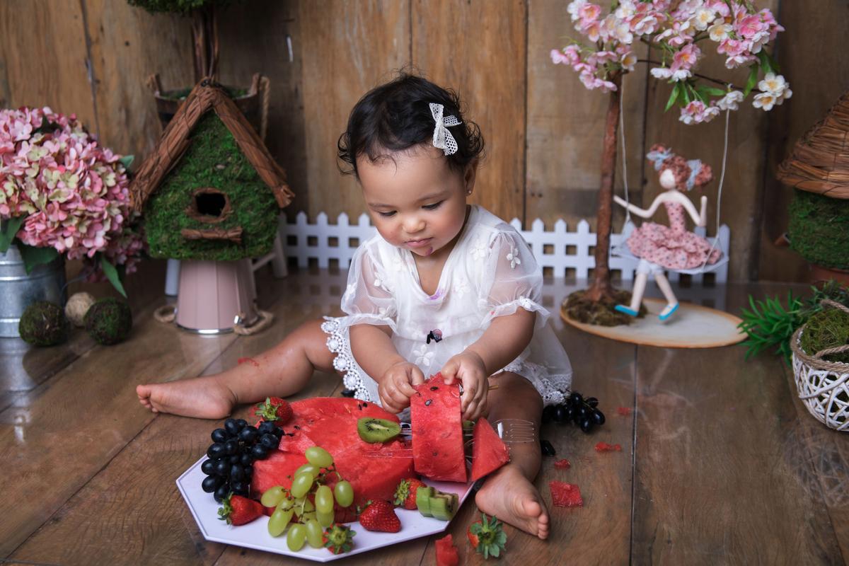 Bolo de Frutas, jardim encantado, àguas Claras Brasilia DF