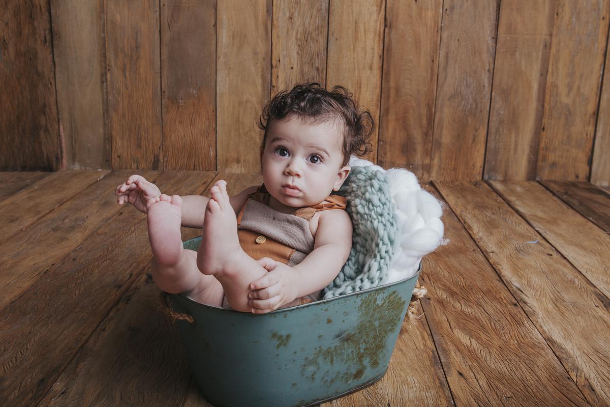 Ensaio bebê 6 meses acompanhamento bebê Brasília DF