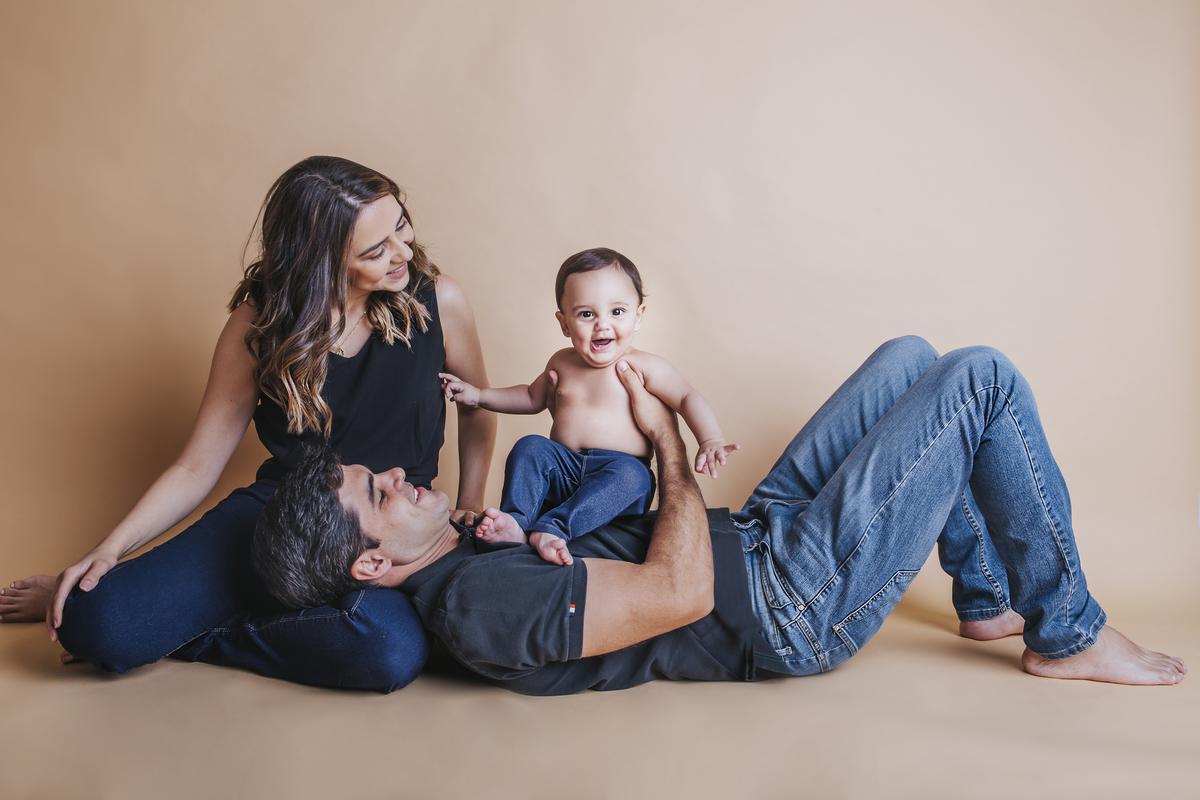 Família, primeiro ano de vida do bebê, ensaio de acompanhamento Brasilia DF