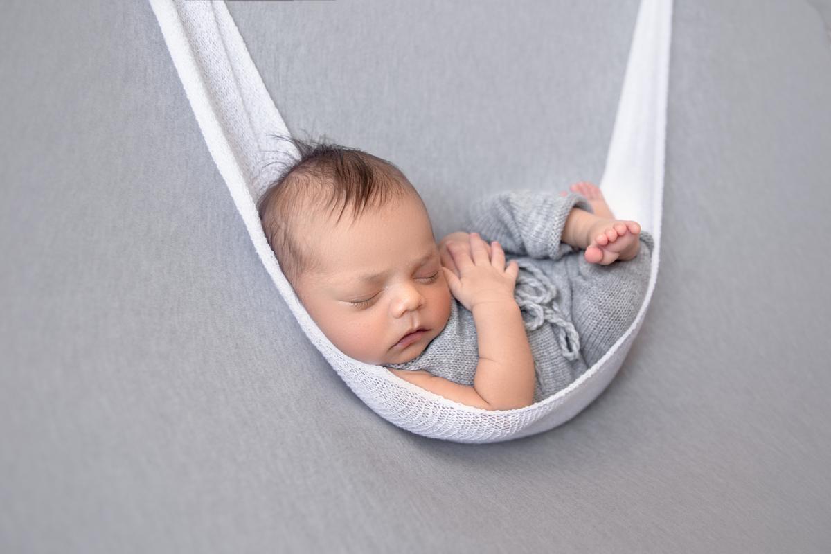 Bebe na redinha Newborn Brasilia DF